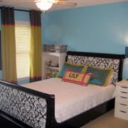家居实用型卧室床