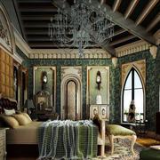 美式传统的卧室
