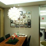 餐厅照片墙欣赏