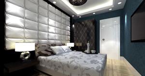 大户型卧室软包背景墙
