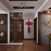 中式客厅玄关隔断