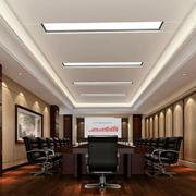 企业精致会议室