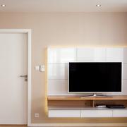 简洁现代化电视背景墙