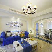 客厅地中海风格装饰