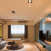 公寓有格调的客厅