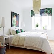 简约纯洁的卧室