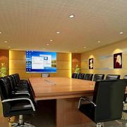 豪华精巧的会议室