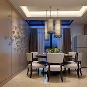 新中式餐厅装潢