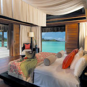 景观优美的别墅卧室