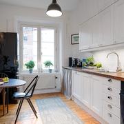 北欧简约的厨房