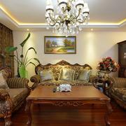 民族风情的客厅沙发