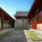中国传统四合院