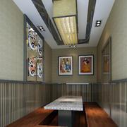 素雅韩式餐厅设计