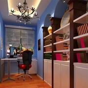 地中海风格书房