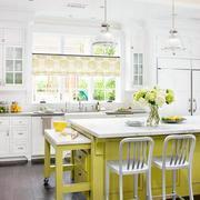 绿色清新时尚厨房