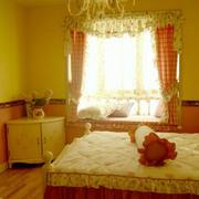 婚房温暖现代化卧室