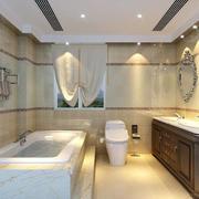 别墅美式浴室欣赏