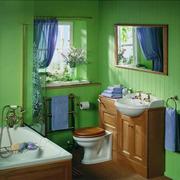 混搭风格的卫生间