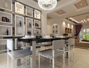 餐厅现代酒柜