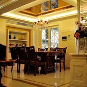 奢华别墅餐厅