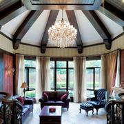 自然大气的美式客厅