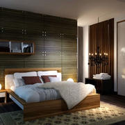 卧室精巧装潢