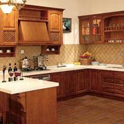 混搭美式厨房吧台