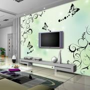 艳丽的电视背景墙