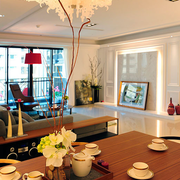 现代大气的客厅