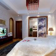 卧室中式风格吊灯