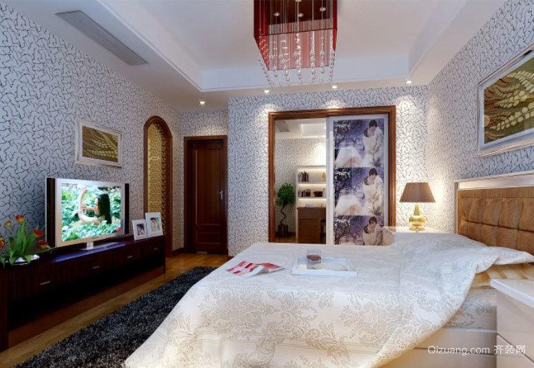 商务酒店后现代风格卧室装修效果图