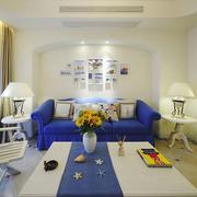 舒适靓丽的客厅