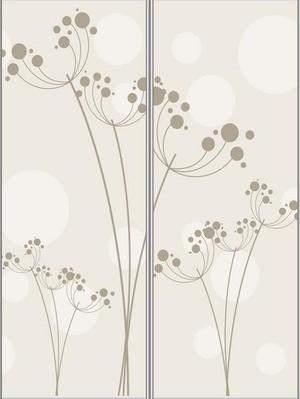 10平米卫生间艺术玻璃门装修效果图