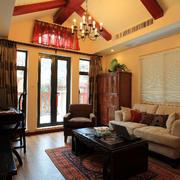 客厅精致古典装饰