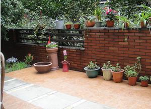 全新50平米露台花园装修效果图