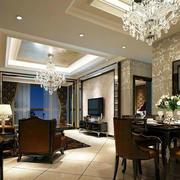 客厅时尚水晶灯
