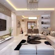 老房家居白色客厅