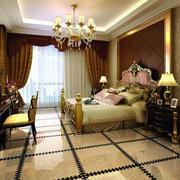 奢华卧室地板砖