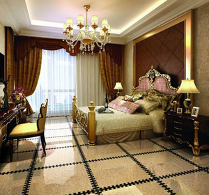 2015单身公寓醉人的现代卧室地板砖装修效果图鉴赏