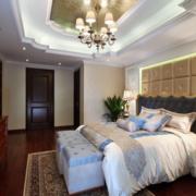 温婉优雅卧室背景墙