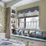 别墅田园风格卧室壁纸