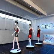 服装店模特展示