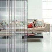 现代玻璃隔断墙效果图