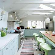 清新绿色时尚厨房
