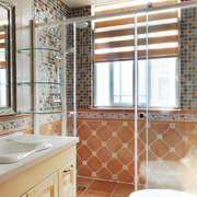 卫生间现代简约瓷砖贴图