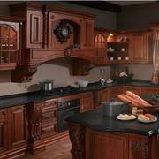 大户型厨房美式橱柜