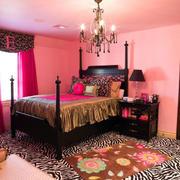 婚房美式温馨卧室