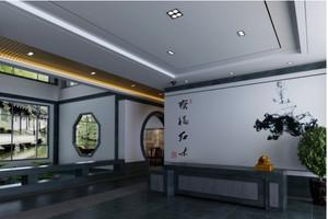 中式风格的展厅