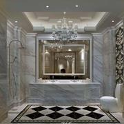大户型别墅浴室