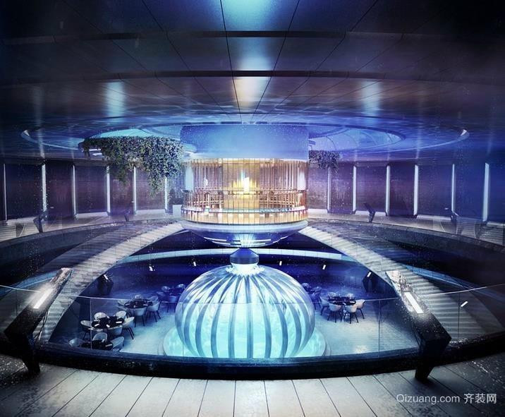 举世无双迪拜七星级水下酒店装修效果图